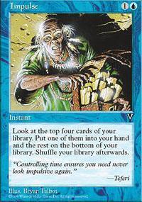 Impulse Magic Card