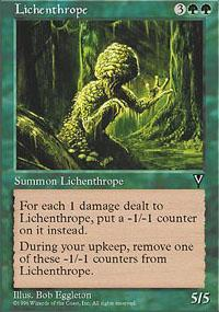 Lichenthrope Magic Card