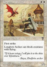Longbow Archer Magic Card