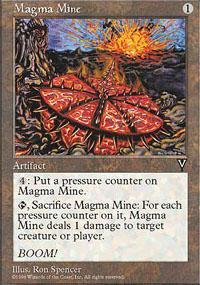 Magma Mine Magic Card
