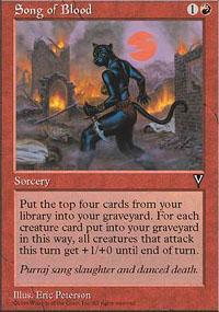 Song of Blood Magic Card