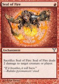 Seal of Fire Magic Card
