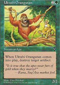 Uktabi Orangutan Magic Card