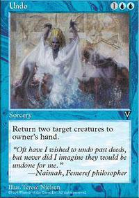 Undo Magic Card