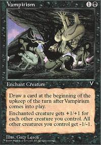 Vampirism Magic Card