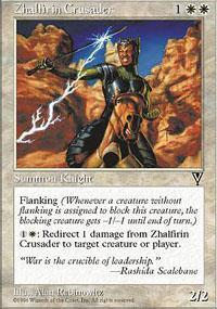 Zhalfirin Crusader Magic Card