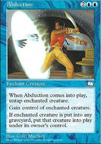 Abduction Magic Card