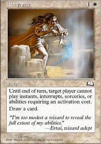 Abeyance Magic Card