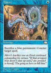 Abjure Magic Card