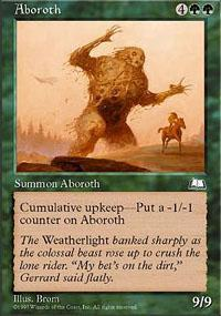 Aboroth Magic Card