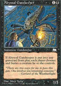 Abyssal Gatekeeper Magic Card