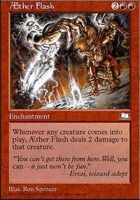 AEther Flash Magic Card