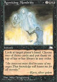 Agonizing Memories Magic Card