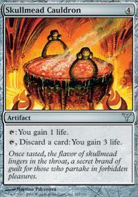 Skullmead Cauldron Magic Card
