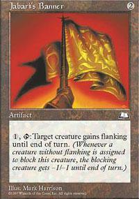 Jabari's Banner Magic Card