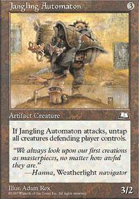 Jangling Automaton Magic Card