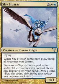 Sky Hussar Magic Card