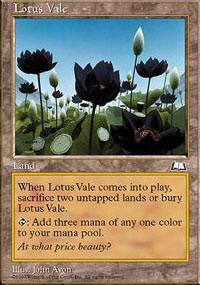 Lotus Vale Magic Card