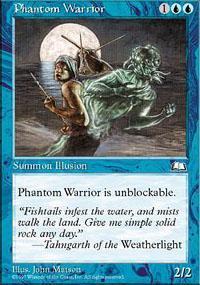 Phantom Warrior Magic Card
