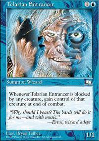Tolarian Entrancer Magic Card