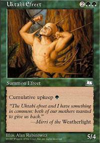 Uktabi Efreet Magic Card