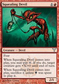 Squealing Devil Magic Card