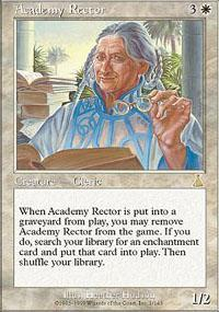 Academy Rector Magic Card