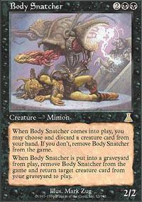 Body Snatcher Magic Card
