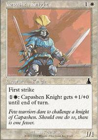 Capashen Knight Magic Card