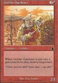 Goblin Gardener Magic Card