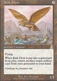 Junk Diver Magic Card