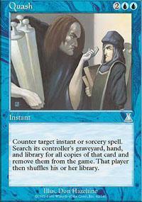 Quash Magic Card