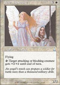 Serra Advocate Magic Card