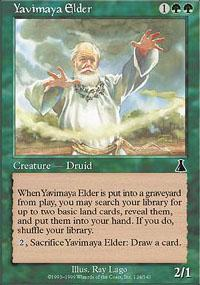 Yavimaya Elder Magic Card