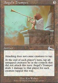 Angel's Trumpet Magic Card