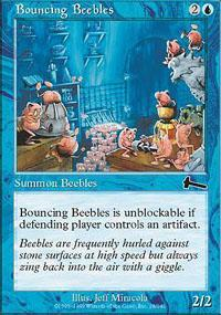 Bouncing Beebles Magic Card