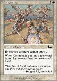 Cessation Magic Card