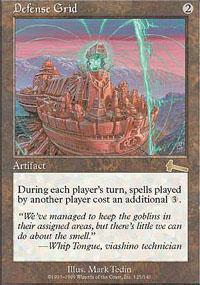 Defense Grid Magic Card