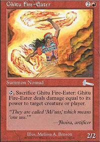 Ghitu Fire-Eater Magic Card