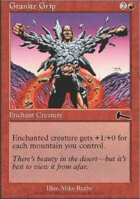 Granite Grip Magic Card