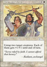 Hope and Glory Magic Card