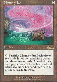 Memory Jar Magic Card