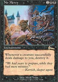 No Mercy Magic Card
