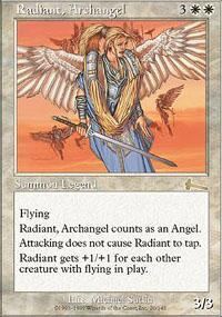 Radiant, Archangel Magic Card
