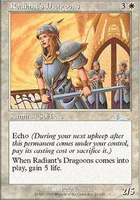 Radiant's Dragoons Magic Card