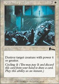 Radiant's Judgment Magic Card