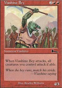 Viashino Bey Magic Card