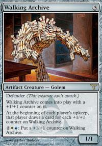 Walking Archive Magic Card