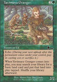 Yavimaya Granger Magic Card
