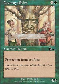 Yavimaya Scion Magic Card